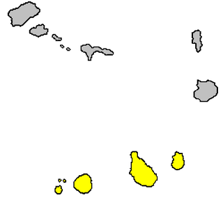 Sotavento Islands Island group of the Cape Verde archipelago