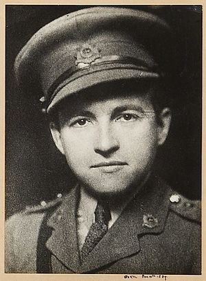 Claude Rains - Rains in his Captain's uniform during WWI