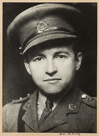 Claude Rains - Rains in his captain's uniform during the First World War