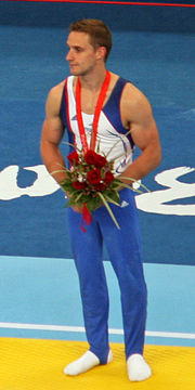 Description de l'image Caranobe Benoît, French artistic gymnast.jpg.