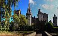 Cardiff Castle from Bute Park arboretum.jpg