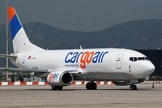 Cargoair - Cargoair Boeing 737-300F