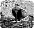 Carl Baagøe - Peder Skram søsættes - 1864.png