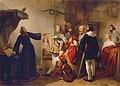 Carl Johann Nepomuk Hemerlein - Ein Astrologe weissagt Rudolf von Habsburg - 3063 - Kunsthistorisches Museum.jpg