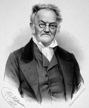Carl Ritter - Carl Ritter (lithograph)