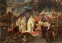 Carl Theodor von Piloty Thusnelda im Triumphzug des Germanicus.jpg