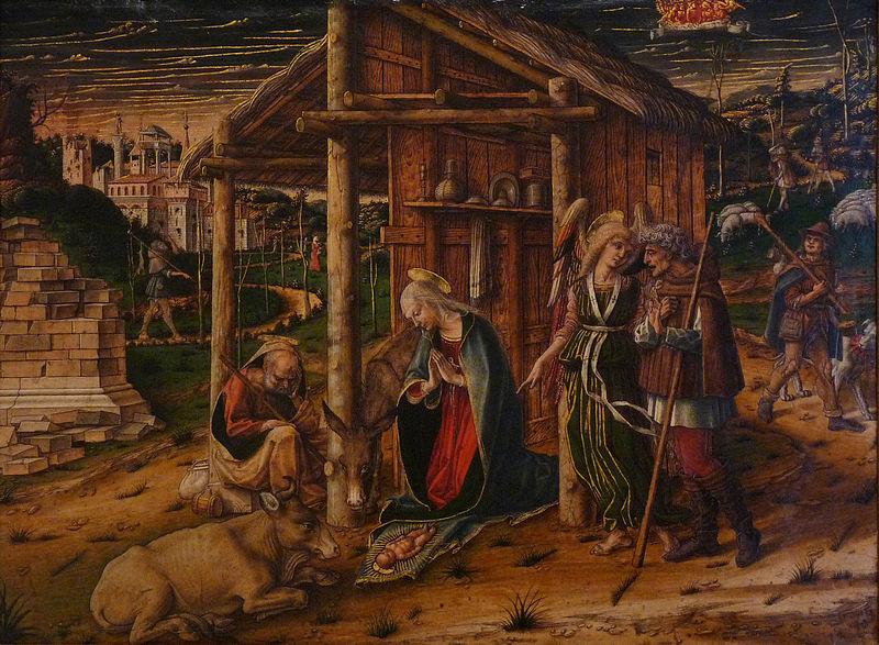 Datei:Carlo Crivelli-Adoration des Bergers.jpg