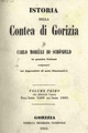 Carlo Morelli di Schönfeld - Istoria della Contea di Gorizia - book 1.pdf