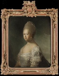 Caroline Mathilde, Queen of Denmark (Carl Gustav Pilo) - Nationalmuseum - 23867.tif