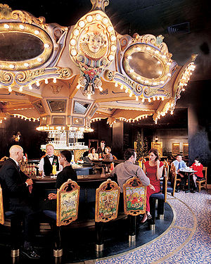 The Carousel Piano Bar & Lounge in the Hotel M...