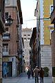 Carrer i torre de l'església de sant Martí de Terol.JPG