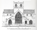 Cartmel Priory - East Elevation.png