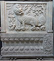 Carved panels with qilin, tomb gate of Zu family tombs, view 3, China, Yongtai Village near Beijing, Qing dynasty, c. 1660-1700, limestone - Royal Ontario Museum - DSC03718.JPG