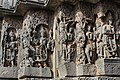 Carvings of Hindu Deities on the wall of the temple.jpg