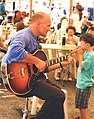 Cary Lewincamp, guitarist, Hobart, 1998.jpg