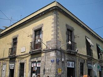 Ángela Peralta - Ángela Peralta's house in Mexico City