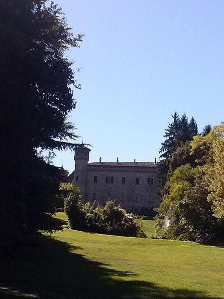 Castle of Rezzanello, municipality of Gazzola (Piacenza, Italy)