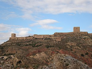 Lorca, Spain -  Castle of Lorca