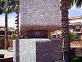 Catalunya VilassarDeMar MonumentARafaelDeCasanovaDetall Nom.JPG