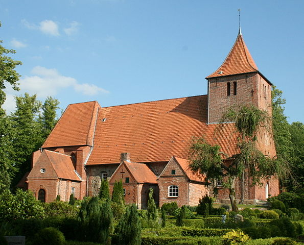 St. Catherine Church in Westensee