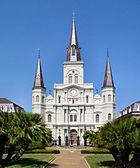Saint Louis Cathedral is a symbol of New Orleans.