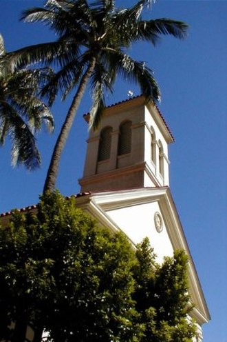 Cathedral Basilica of Our Lady of Peace - Oldest bell tower clock in Honolulu