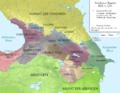 Caucasus 850 map alt de.png