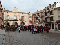 Caudete. Plaza de la Iglesia. Víspera de Reyes 4.JPG