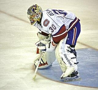 Cédrick Desjardins Canadian ice hockey goaltender