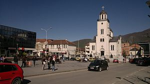 Gostivar - Image: Center Of Gostivar
