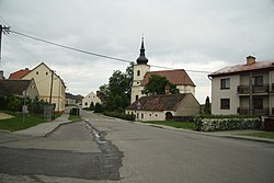 Center of Lukov, Třebíč District.JPG