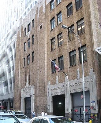 IND Sixth Avenue Line - 53rd Street powerhouse