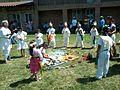 Ceremonia azteca de bienvenida a la primavera en Ayahualulco, Veracruz, México. 26.jpg