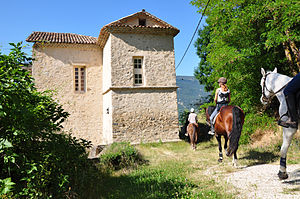 Clumanc - Chateau