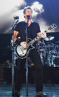 Chad Kroeger Canadian musician and producer