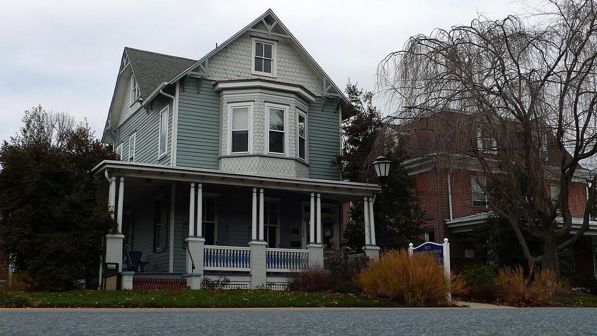 Chambers House College Avenue Newark Delaware Wikipedia
