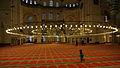 Chandelier inside Süleymaniye Mosque.JPG