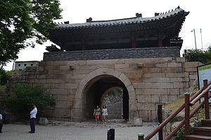 Changuimun - Changuimun Rear View, Seoul, Korea