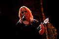 Chantel McGregor at The Caves, December 14, 2014 - Serenading the crowd 02.jpg