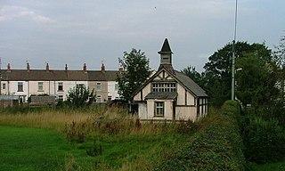 Dunsdale village in United Kingdom