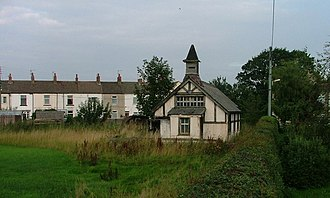 Dunsdale - Disused timber-built, tin-roofed chapel in Dunsdale