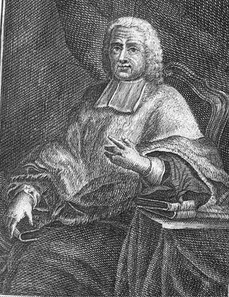 Charles Rollin - Engraving of Charles Rollin from an Italian version of his Ancient History (1730-38).