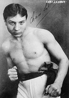 Charles Ledoux French boxer
