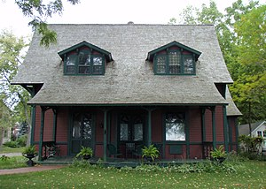 White Bear Lake, Minnesota - The Charles P. Noyes Cottage dates back to the days when White Bear Lake was a resort town.