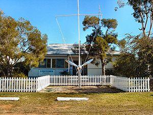 Charleville, Queensland - The Royal Flying Doctor Service visitor centre at Charleville