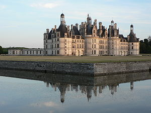 Catherine de' Medici's building projects -  Château of Chambord, built by King Francis I