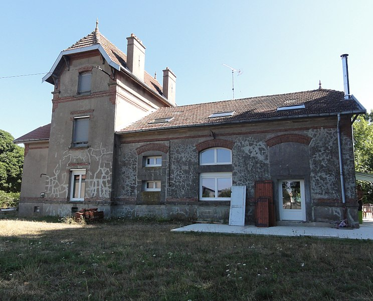 Chattancourt (Meuse) ancienne gare
