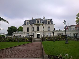 Chaville - The town hall of Chaville