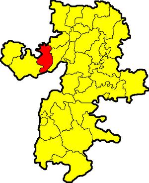 Satkinsky District - Image: Chelyabinskaya oblast Satkinsky rayon