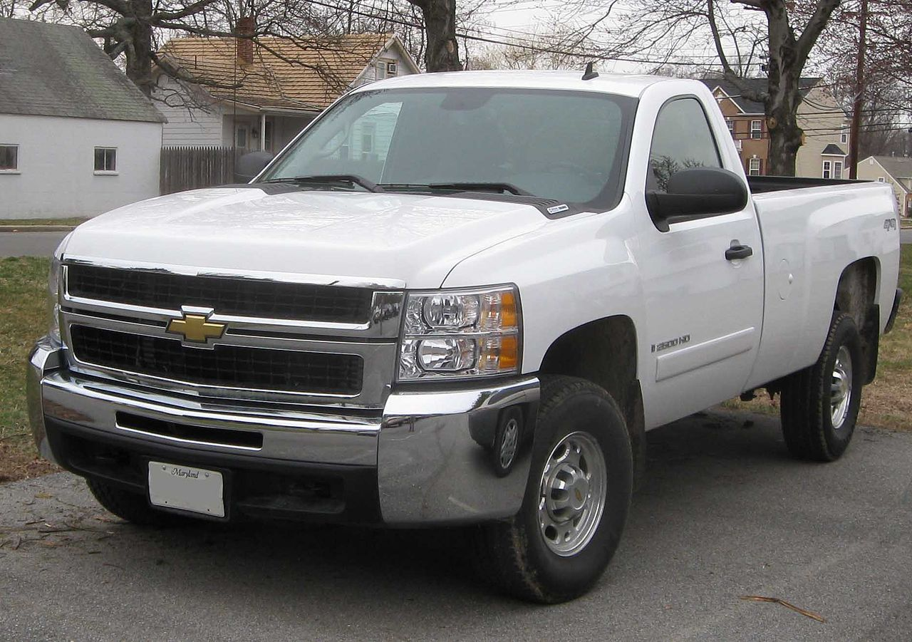file chevrolet silverado 2500 regular wikimedia. Black Bedroom Furniture Sets. Home Design Ideas